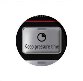 0-59 mins adjustable period to keep pressure
