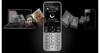 Téléchargez des contacts depuis votre mobile, votre ordinateur ou Google.