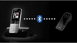 Совместимость с гарнитурой Bluetooth для общения без рук