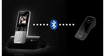 Compatibile con cuffie Bluetooth per l'uso in vivavoce
