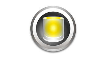 Эффект мягкого света свечи с легким мерцанием
