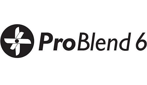 Lama de 6 stele ProBlend pentru amestecare şi tăiere eficiente