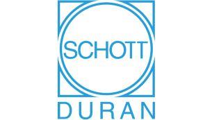 Скло SCHOTT DURAN®, виготовлене в Німеччині, ідеально підходить для кип'ятіння