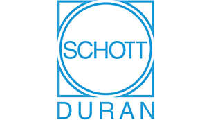 SCHOTT DURAN® glass made in Germany is perfect for boiling
