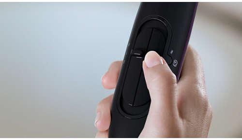Sechsflexible Gebläse- und Temperaturstufen für volle Kontrolle