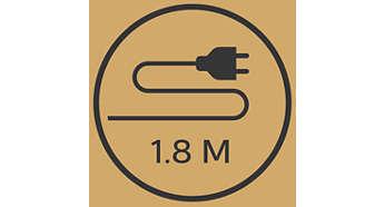 1,8 m ledning