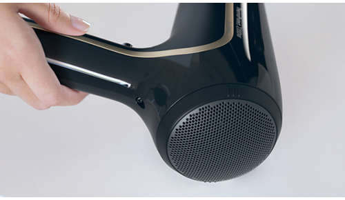 Il filtro aria removibile è veloce e facile da pulire