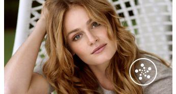Conditionnement ionique pour des cheveux brillants et sans frisottis