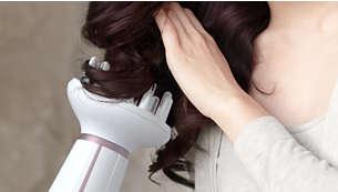 增加髮量,打造彈力豐盈的捲髮造型