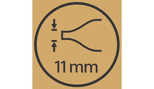 Beccuccio ultra sottile da 11 mm per uno styling di precisione