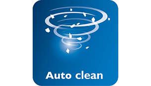 Auto-clean function for longer lifetime