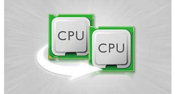 Двухъядерный процессор 1,2ГГц для быстрой работы мобильных приложений
