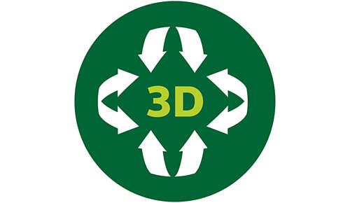 Funkcja podgrzewania 3D zapewnia równomierne podgrzewanie potraw