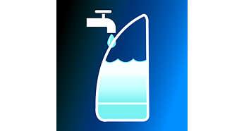 Eau du robinet utilisable