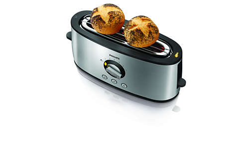 Integrierter Halter für das Aufwärmen von Brötchen und Croissants