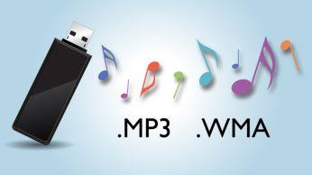 Mėgaukitės MP3/WMA muzika tiesiai iš savo nešiojamų USB prietaisų