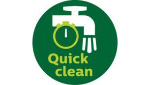 QuickClean technology