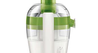 Verificare uşoară a pulpei prin recipientul transparent