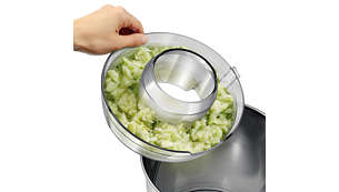 Comprobación fácil de la pulpa con recipiente de pulpa transparente