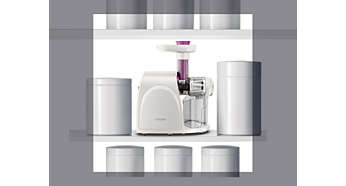 Philips Viva Slow Juicer Hr1830 : viva Collection Slow juicer HR1830/03 Philips