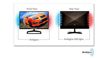 Ambiglow intensifies your 3D experience with a halo of light