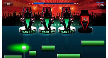 Syng i en blind audition, og se hvor mange trenere som velger deg