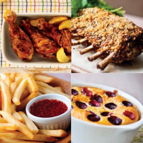 Con la Airfryer podrás freír, tostar, asar e incluso hornear