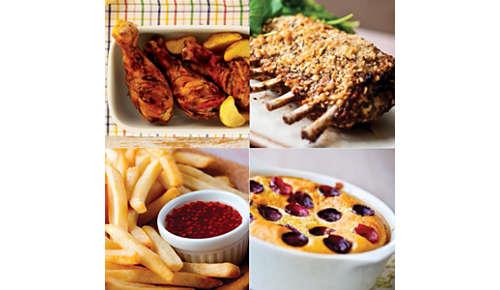 Con Airfryer puoi friggere, grigliare, arrostire e persino cuocere al forno
