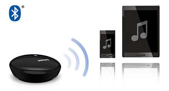 Works with any smartphone or tablet with Bluetooth