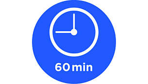 Temporizador de 60minutos con señal de listo y desconexión automática
