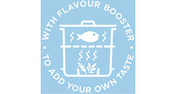 Flavour booster - infuses your food with delicious herbs