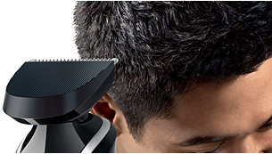 Extra wide hairclipper for a complete and even haircut