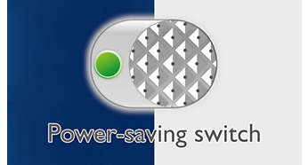 Single click to access Power-saving mode
