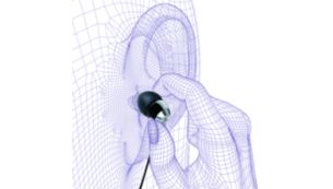 Ultra-small for snug comfy in-ear fit