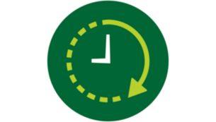 24 val. paprastai programuojamas išankstinio nustatymo laikmatis