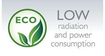Consommation électrique et rayonnements faibles