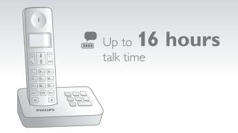 Tot wel 16 uur spreektijd met één keer opladen