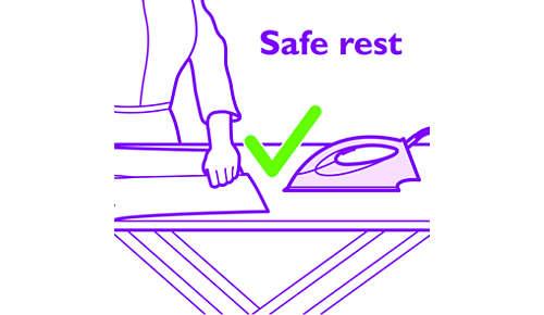 Puede dejar desatendida la plancha gracias a la tecnología OptimalTemp