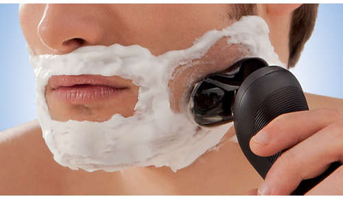 For extra skin protection, use with shaving cream
