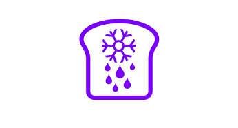 Optøning og ristning af brød direkte fra fryseren