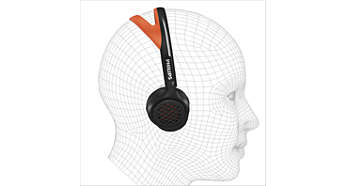 Snug-fit headband optimally fits any ear contour