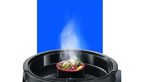 Pojemnik na przyprawy umożliwia nadanie potrawom aromatu ziół i przypraw