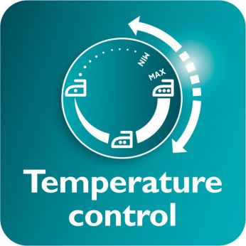 Easy temperature control