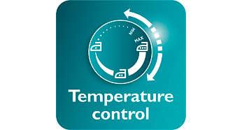 Điều khiển nhiệt độ dễ dàng