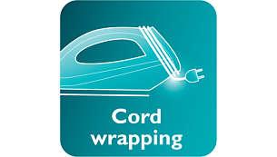 Penggulung kabel untuk memudahkan penyimpanan