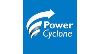 Tecnologia PowerCyclone 4 separa pó e ar numa passagem