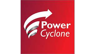 PowerCyclone 4 技術一次就能將灰塵與空氣分離