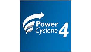 Tehnologija PowerCyclone 4 ločuje prah in zrak