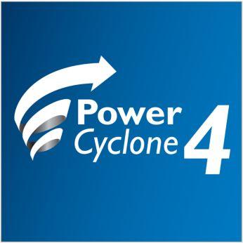 Технологията PowerCyclone 4 разделя праха и въздуха наведнъж
