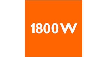 1800W motor zaručí vysoký výkon